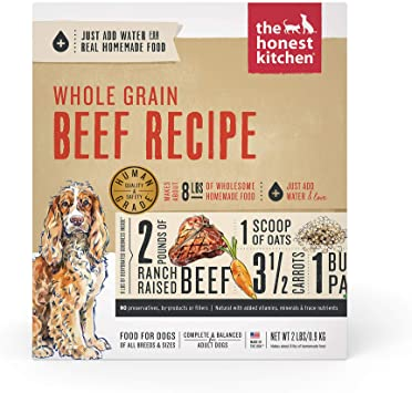 The Honest Kitchen - Whole Grain Beef Recipe