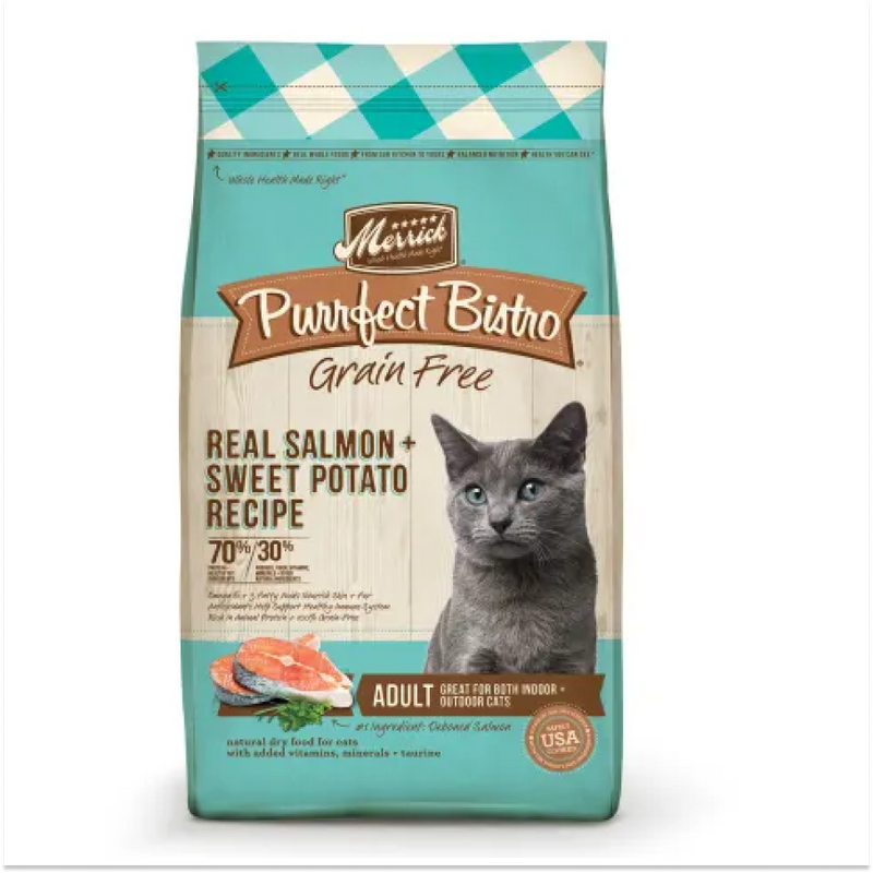 Merrick Adult Real Salmon & Sweet Potato Cat Food