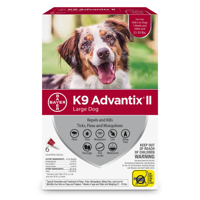 K9 Advantix II Large Dog