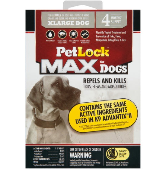 PetLock Max for Dogs Over 55 lbs.