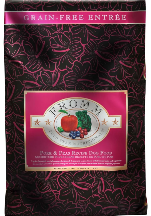 Fromm Pork and Peas Dog Food