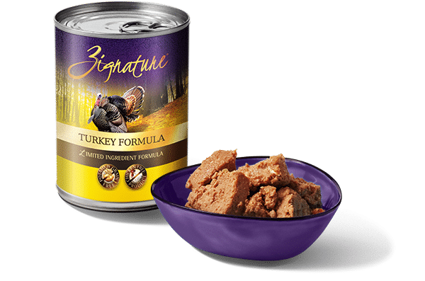 Zignature Turkey Dog Canned Food