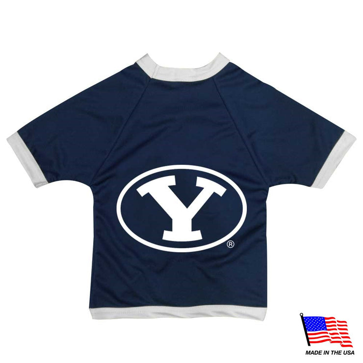 Brigham Young Cougars Officially Licensed NCAAA Athletic Mesh Pup Jersey - Hug My Pup