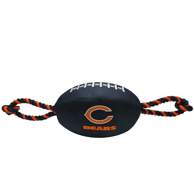 Chicago Bears Officially Licensed NFL Dog Nylon Football - Hug My Pup