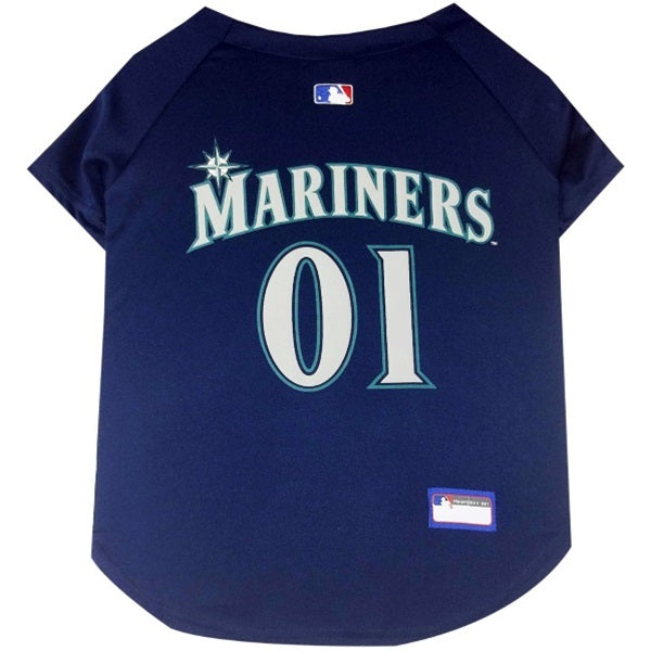 Seattle Mariners Pup Jersey - Hug My Pup
