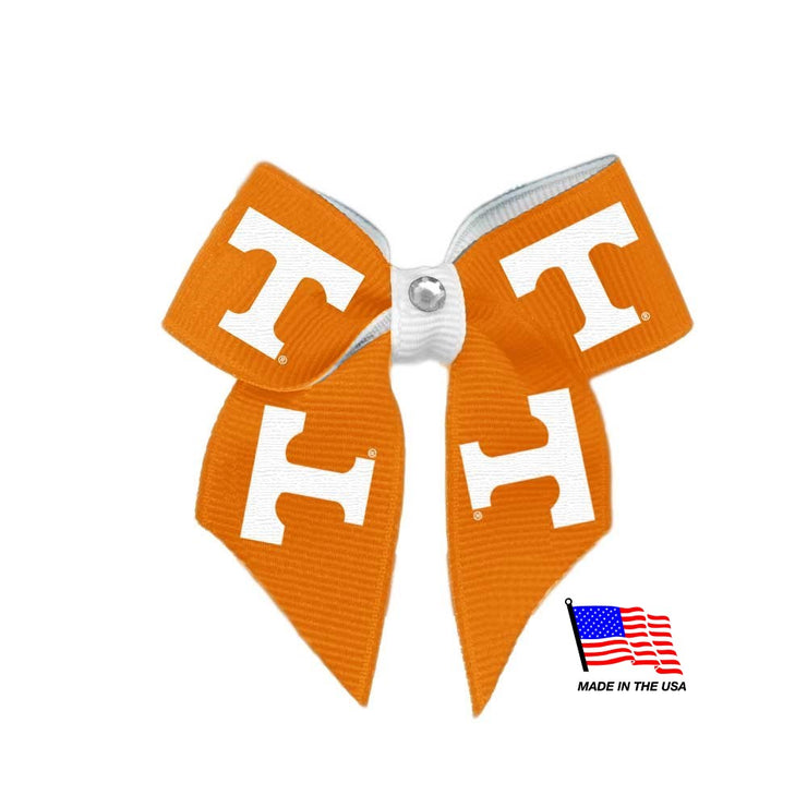 Tennessee Vols Pup Hair Bow - Hug My Pup
