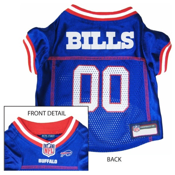 Buffalo Bills Officially Licensed NFL Pup Jersey - Hug My Pup