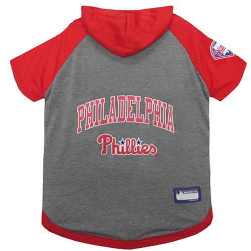 Philadelphia Phillies Pet Hoodie T-Shirt - Hug My Pup