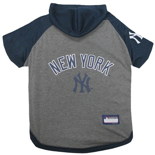 New York Yankees Pup Hoodie T-Shirt - Hug My Pup