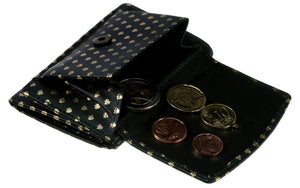 Tri Fold Wallet in All over Shamrocks