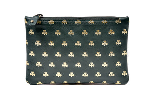 Top zip purse All over Shamrocks