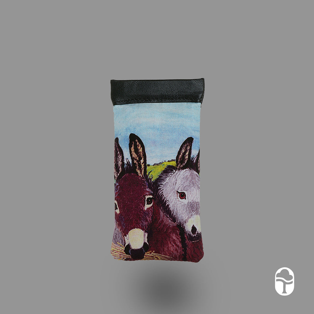 Snap Glasses case Donkey