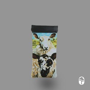 Snap Glasses Case Sheep