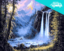 Load image into Gallery viewer, Mystic waterfall