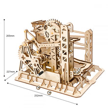 Load image into Gallery viewer, DIY Mechanical Wooden Model - Marble Lift Coaster - Drop Of Colour