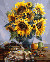 Load image into Gallery viewer, Sunflowers Painting - Drop Of Colour