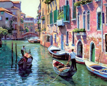Load image into Gallery viewer, Venice Landscape - Drop Of Colour