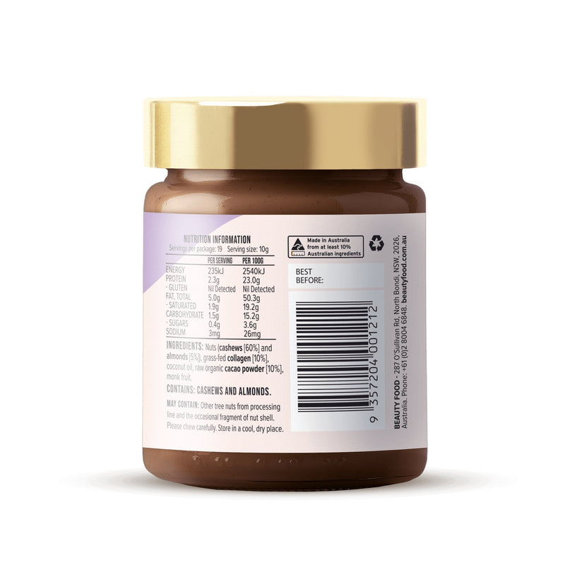 Choc Chic Nut Butter with Collagen-Nut Butter-Yo Keto