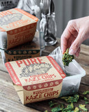 Kale Chips with Garlic and Spices-Chips-Yo Keto