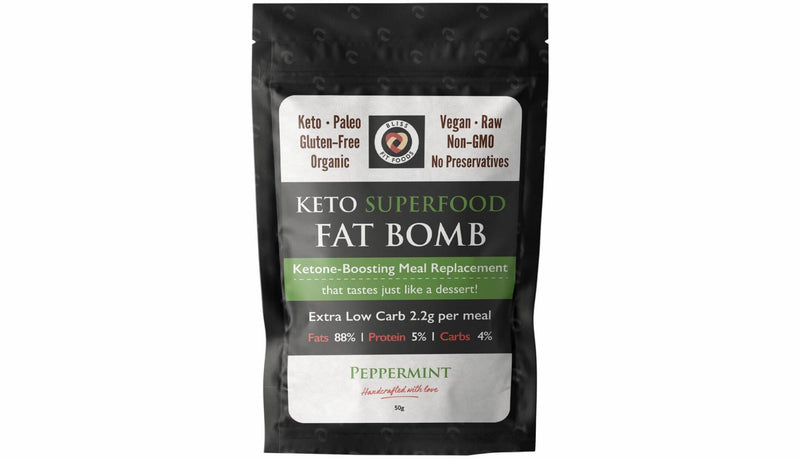 Peppermint Keto Superfood Fat Bomb - Best before 15/02/21-Bar-Yo Keto
