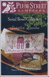 Sampler Lesson One | Serial Bowl Collection