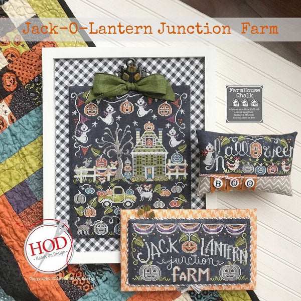 Jack-O-Lantern Junction Farm | Farmhouse Chalk