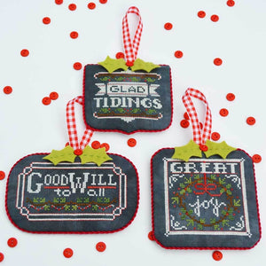 Chalkboard Ornaments Part Two