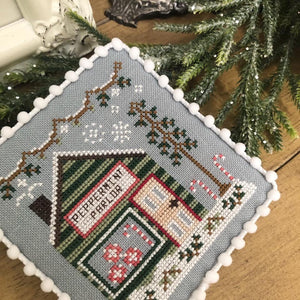 Peppermint Parlor | Snow Village