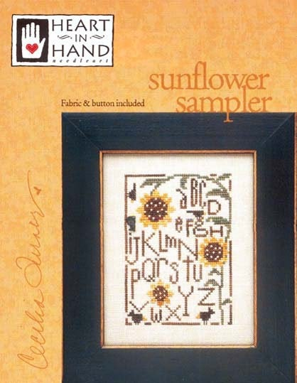 Sunflower Sampler with Fabric