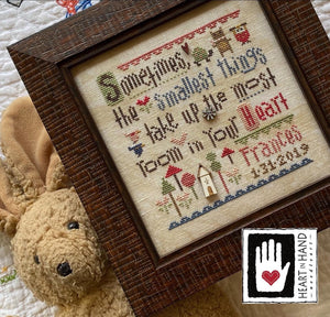 Smallest Things Sampler with Embellishments