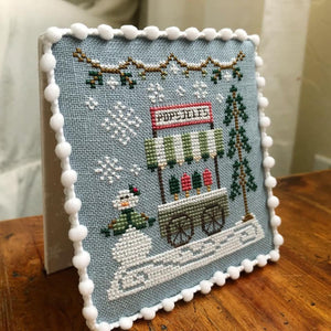 Popsicle Cart | Snow Village