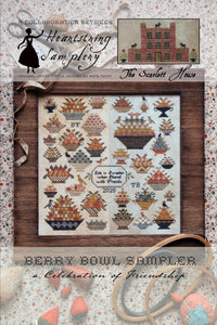 Berry Bowl Sampler | Heartstring Samplery & The Scarlett House | Cross Stitch Pattern
