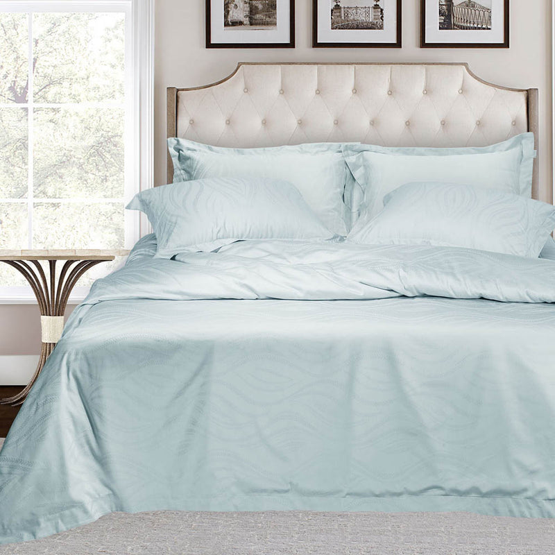500 Thread Count Bamboo Bedding - Light Green