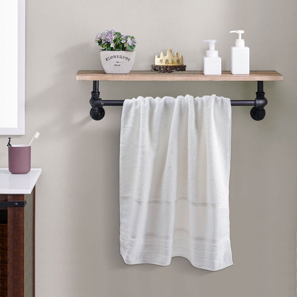 Portugal Cotton Towel - White