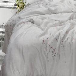"400 Thread Count Super King Size Bedsheet 108""x108'' with 2 Pillow Covers"
