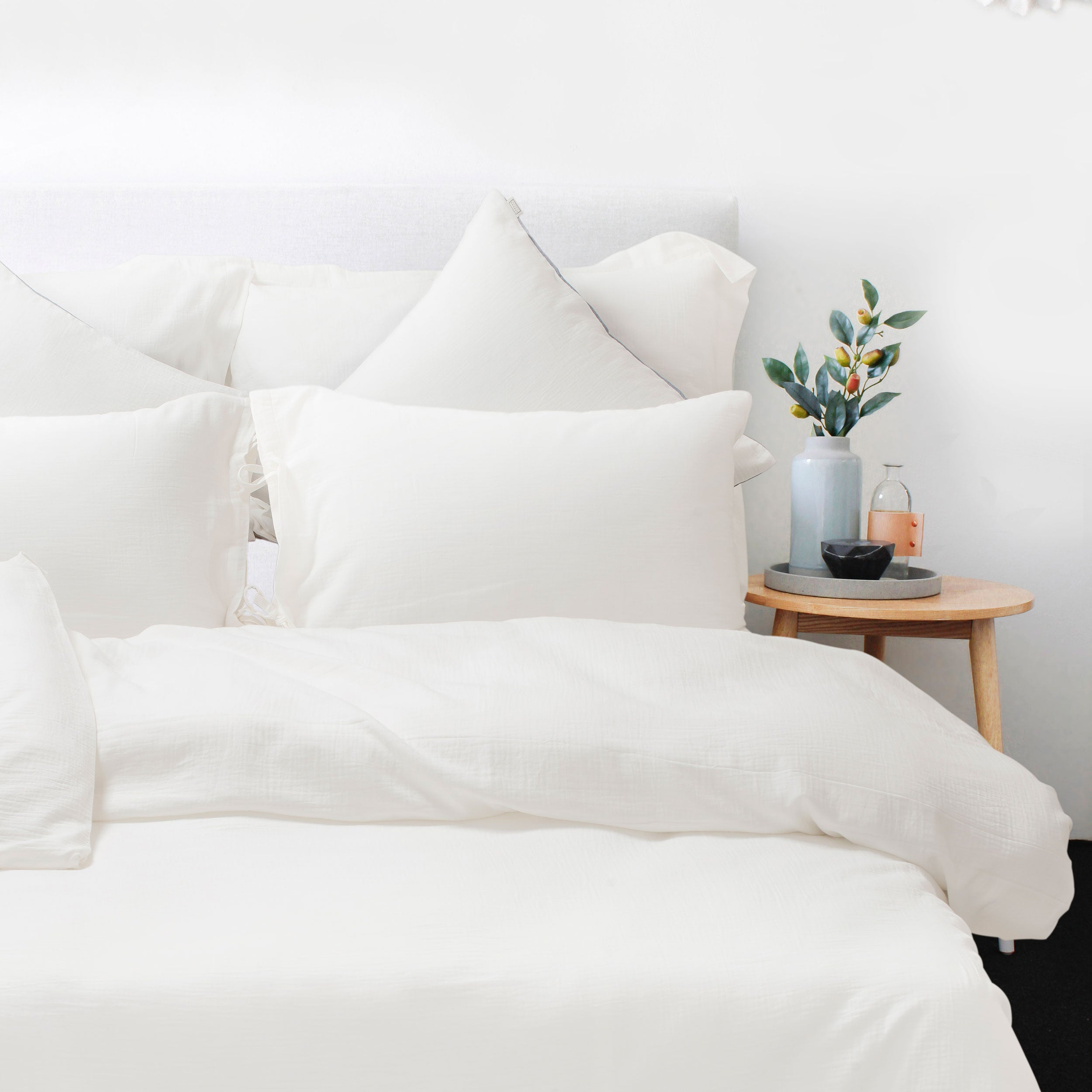 100 % Washed Cotton Breathable Bedding