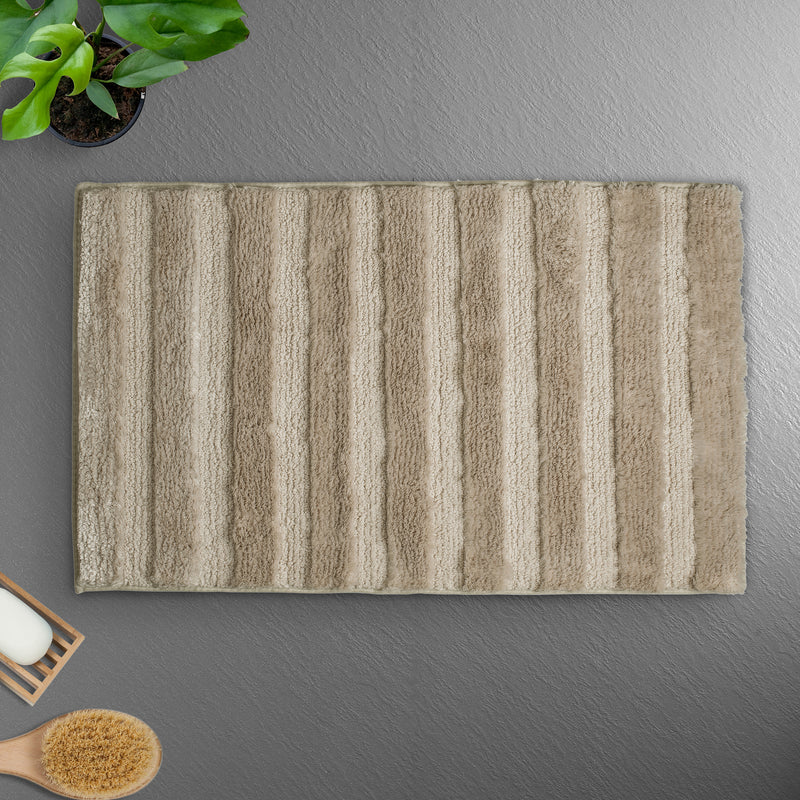 Ultra Absorbing New Age Micro Fibre Bathmat - TAUPE