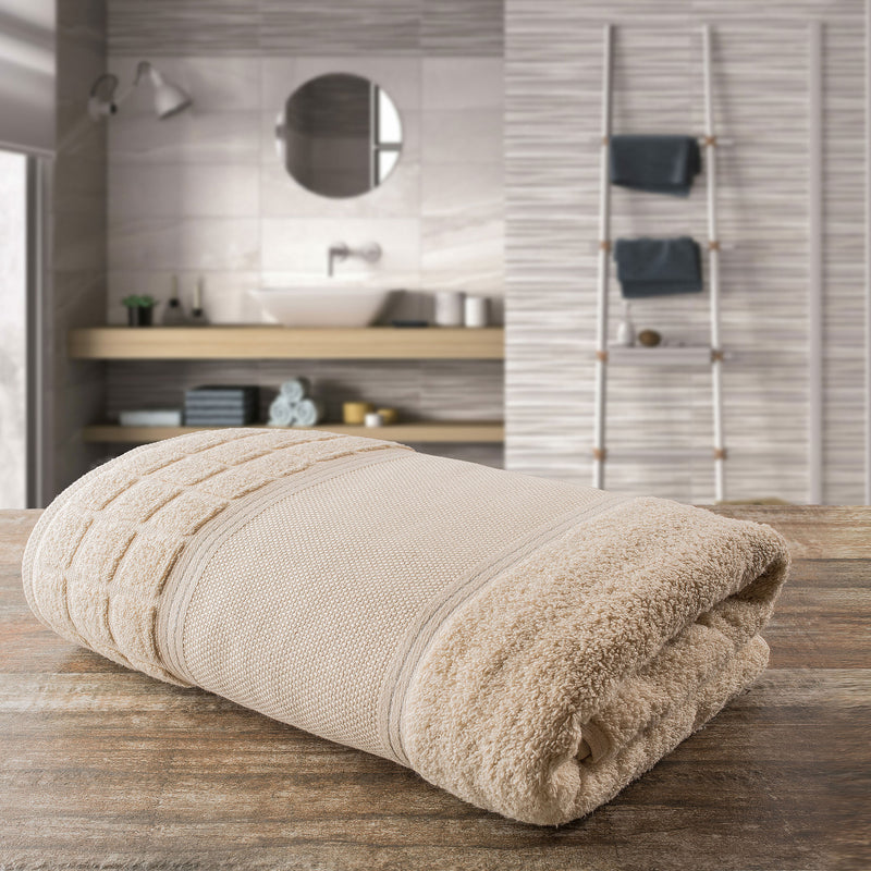 Portugal Cotton Towel - Beige