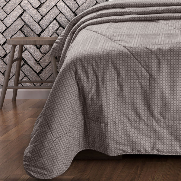 Countryside Summer AC Quilt - Wood Smoke