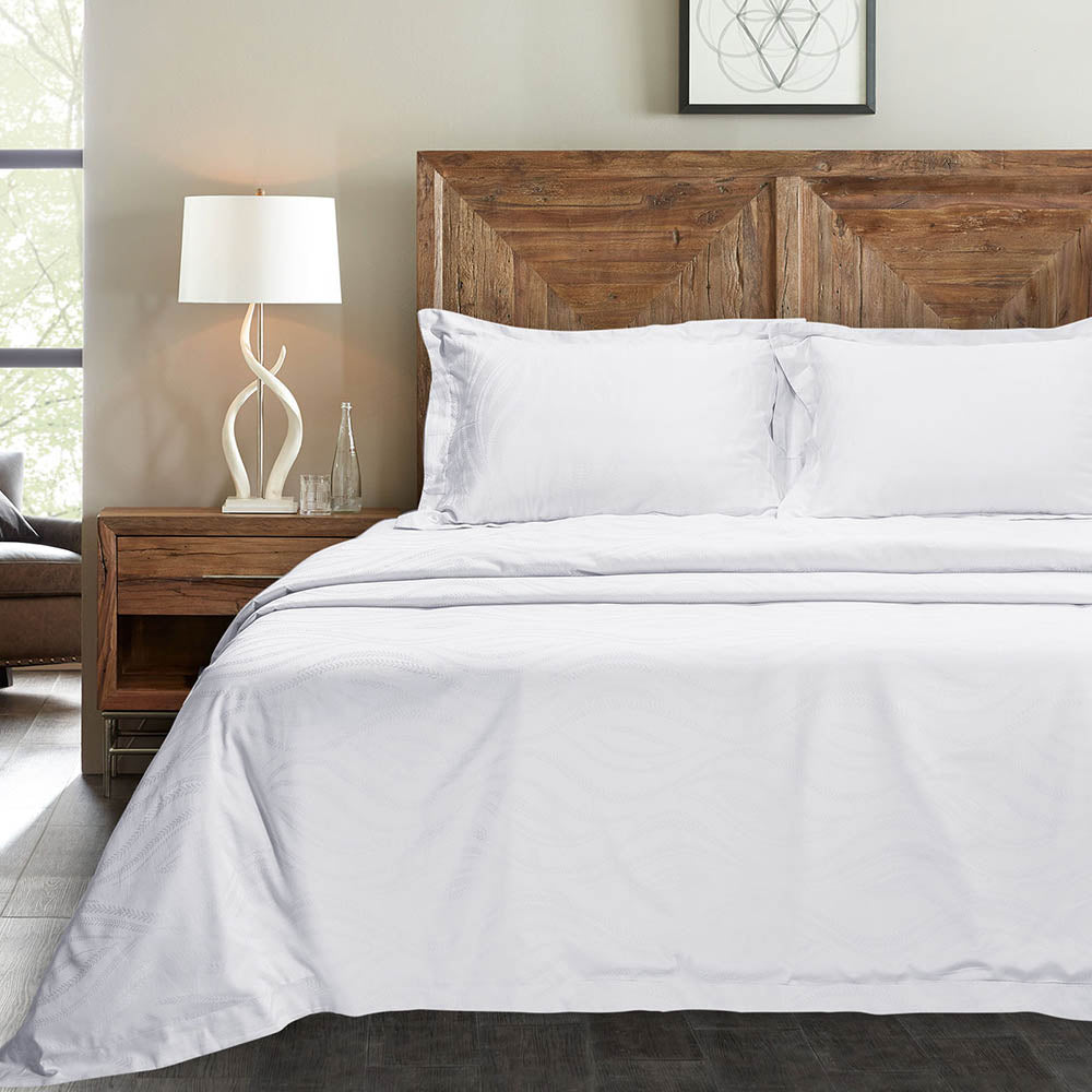 500 Thread Count Bamboo Bedding - White