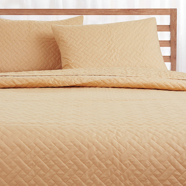 Day and Night Bedcover - Dark Beige