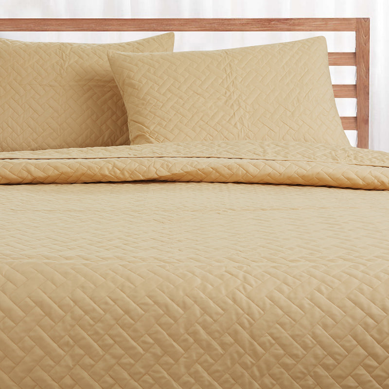 Day and Night Bedcover - Gold