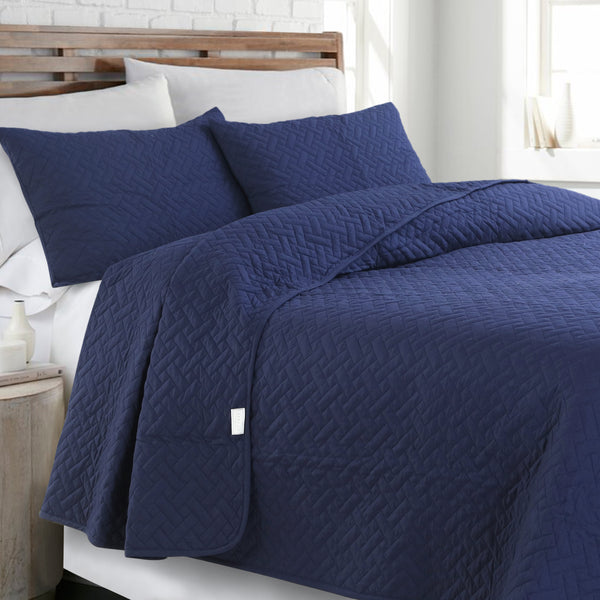 Day and Night Bedcover - Navy