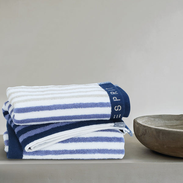 Esprit Bath Towel -  Blue 100% Cotton 480 GSM