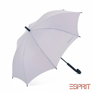 Esprit Long Handle Umbrella with UV Coating - Grey