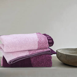 Esprit Hand Towel 2 Pcs. -  Purple 100% Cotton 480 GSM