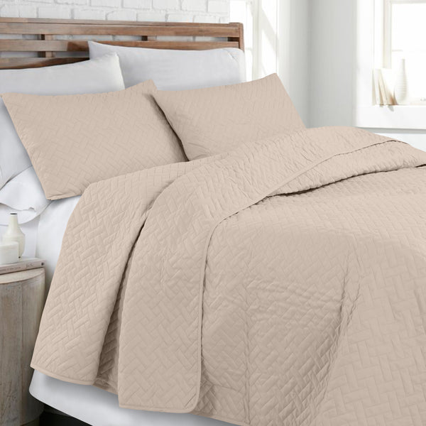 Day and Night Bedcover - Tan