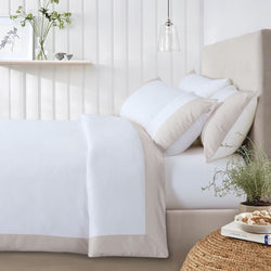 Botanic Cotton 550 Thread Count Lakeside - Sand