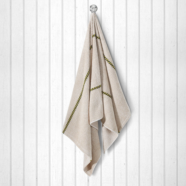 100 % Cotton Premium Towel - Beige