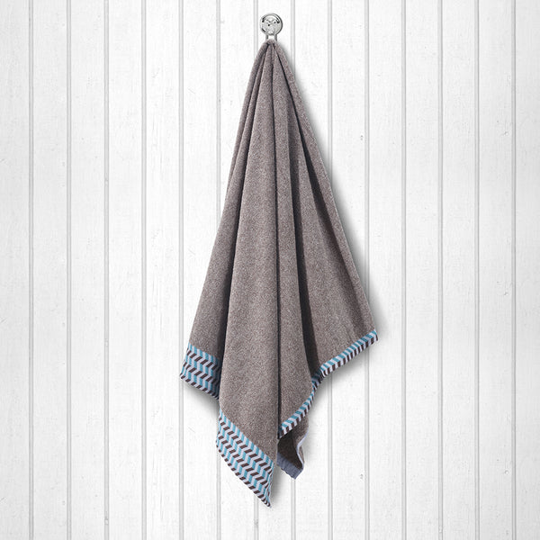 100 % Cotton Premium Towel - Coffee